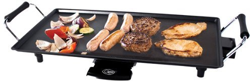 Non-Stick Tappanyaki Hot Plate Grill With Sausages