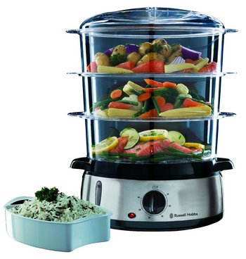 10 best electric food steamer reviews to eat healthy today. Black Bedroom Furniture Sets. Home Design Ideas