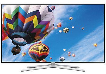 Samsung HD LED 3D TV Showing Colourful Hot Air Balloon