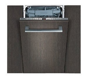 Siemens Slimline Dishwasher In Grey Finish
