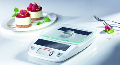 Food Scales In White Finish