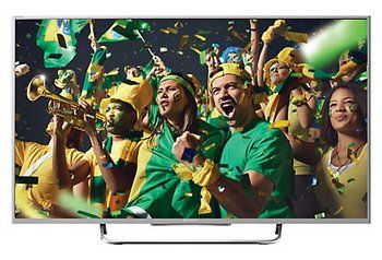 Sony Bravia LED HD TV Depicting Colourful Party People