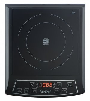 Digital Electric Induction Hob In Stylish Black