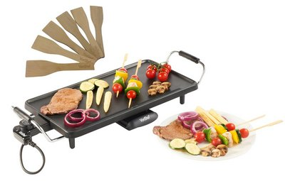 Electric Powerful Teppanyaki With Skewered Foods