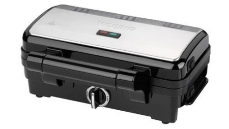 Deep Fill Toastie Maker In Black With Front Control