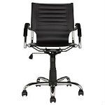Cream Swivel Home Office Chair