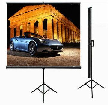 Automatic Projector Screen 254cm In White 300D