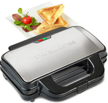 Sealed Slice Thick Sandwich Maker With Steel Top