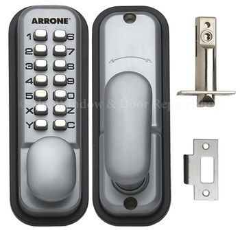 Digital Keypad Lock For Doors With Fixings