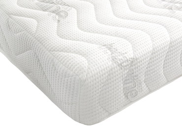 Allergenic Memory Foam Mattress Corner In White