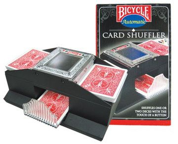 Battery Automatic Card Shuffler With Green Box