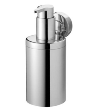 Chrome Zinc Steel Soap Dispenser With Front Spout