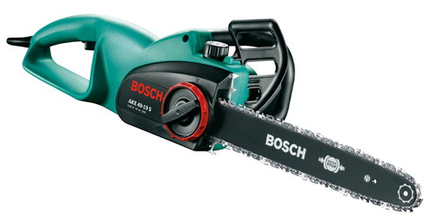 Mini Electric Chainsaw In Black And Green