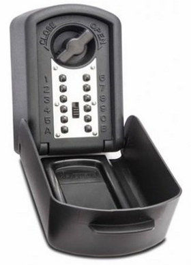 Police Approved Digital Key Safe In Black