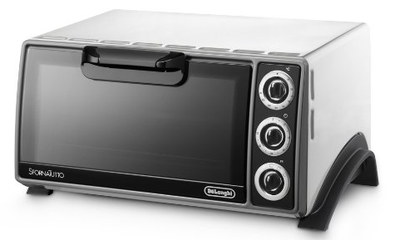 E01455-30 Power Mini Oven In White Steel