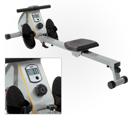 Magnetic Foldaway Rowing Machine With LCD Close Up