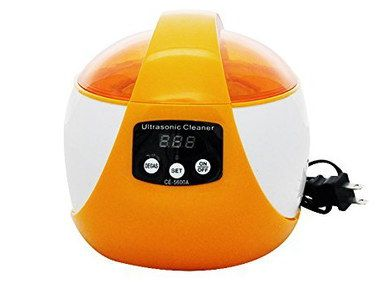 Ultrasonic Jewellery Cleaning Machine In Bright Orange