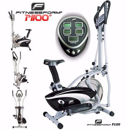 2 In 1 Trainer Exercise Bike In Black And White