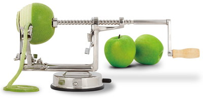 Apple Peeling Machine In Polished Steel