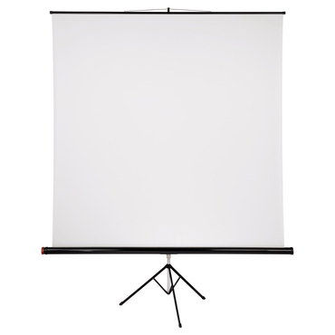 Tripod Outdoor Projector Screen With Black Platform