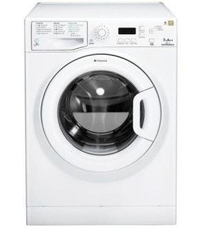 Washing Machine In White Exterior