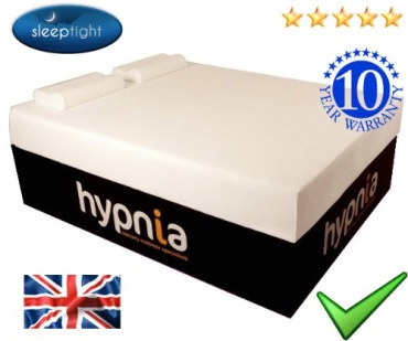 Memory Foam Mattress With 10 Years Warranty Logo