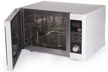 Combi Microwave In White Exterior