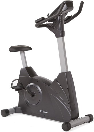 Exercise Bike In All Black Exterior