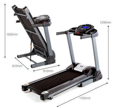 Fold Away Treadmill With Dimensions