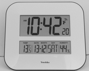Big Digit LCD Digital Calendar Clock With Full Date