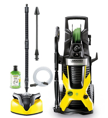 150 Bar Pressure Washer In Black And Yellow