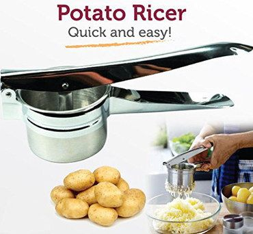 Heavy Duty Potato Ricer With Long Handles