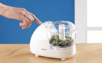 Food Processor Mini Chopper In White Finish