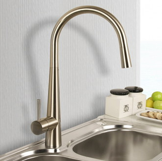 Kirby Sebastian Pull Out Spray Kitchen Tap Fixed In Sink