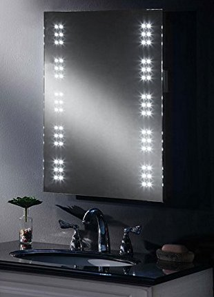 MY-Furniture LED Bathroom Illuminated Mirror In Rest Room