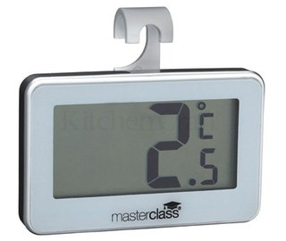 Master Class LCD Wi-Fi Fridge Thermometer In Grey