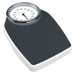 Medisana Mechanised Bathroom Weighing Scales With Big White Dial