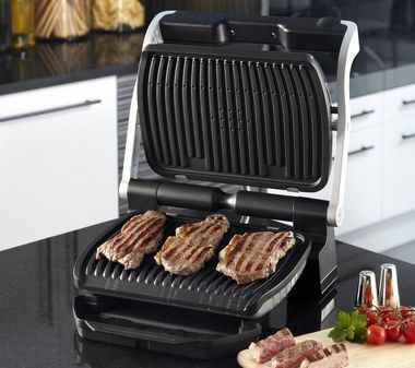 4 Mode Indoor Cooking Grill 2000W With Chrome Handle