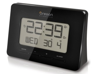 Atomic Alarm Clock In Black Casing