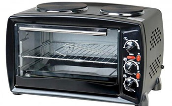 Mini 2900 Watts Power Oven With Steel Shelves