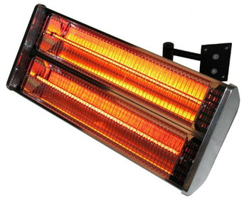 Delicieux Primrose London Wall Mounted Patio Heater With Black Bracket