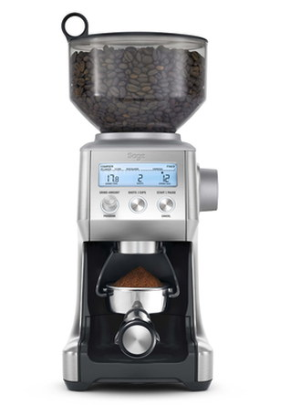 Smart Coffee Grinder Pro With Black Base