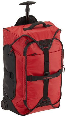 Waterproof Duffle In Red Exterior Material