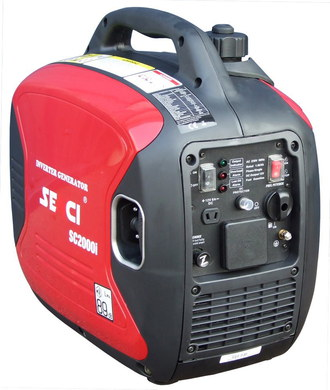 Inverter Silent Petrol Generator With Red Finish