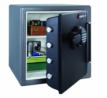 Waterproof Safe With Cash Inside
