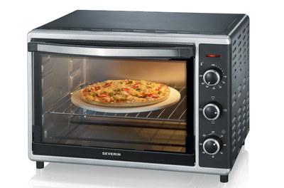 Oven Mini Convection With Pizza Inside