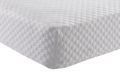 Firm Memory Foam Mattress In All White