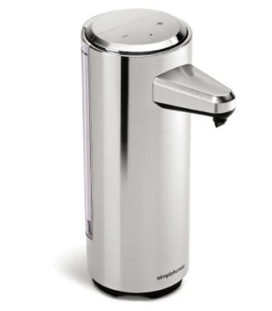 Steel Soap Pump Dispenser Front View