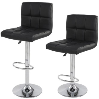 Cheap Breakfast Bar Stools In Black And Chrome Metal Styles