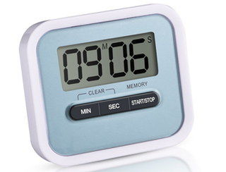 Magnetised Mobile Digital Cooking Timer With 3 Options